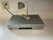 New listing Daewoo Dv-6T955B Vhs Dvd Combo Cassette Recorder With Remote & Directions Tested