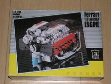 1/8 Scale Pocher Rivarossi Engine Kit Ferrari Testarossa KM/51 Complete New !!