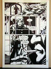 GRIMJACK 6 PAGE 19 PENCILS AND INKS BY TIM TRUMAN