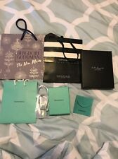Genuine Tiffany & Co. Empty Display Gift Box And Pouch Perfect Condition (9)