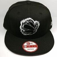 Memphis Grizzlies New Era 9Fifty Black & White Adjustable Snapback Cap NBA