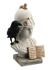 "9.5"" The Raven - Nevermore Edgar Allan Poe Statue Sculpture Figure Figurine"