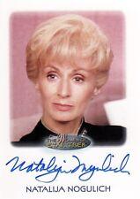 Women Star Trek 2010 Natalija Nogulich as Admiral Nechayev Auto Card