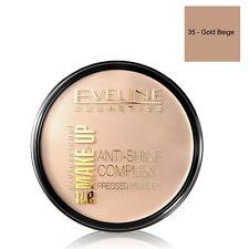 Eveline Cosmetics Anti Shine Complex Pressed Powder 35 Gold Beige Shade