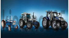 A3 Ford/New Holland Tractor Evolution Poster Brochure Picture T7060 7810 5000