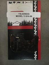 Oregon Semi Chisel Chain 73LGX063G Wood Beaver Forestry Wood Processor LB13