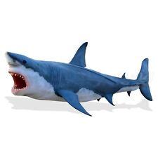 XXL GROßER WEIßER HAI 700 cm KINO FILM FISCH Deko Tier Werbe Figur Gastro SHARK