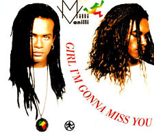 MILLI VANILLI - Girl I'm gonna miss you 4TR CDM 1989 POP