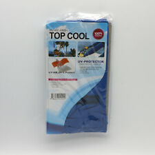 [Top cool] Unisex Arm Sleeves Cooling UV Skin Cover Sun Protector Golf 1pair