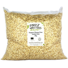 Forest Whole Foods - sans Gluten Biologique Jumbo Porridge Avoine 10kg