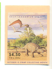 Australia-Dinosaurs booklet mnh complete