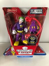 Fisher-Price DC Super Friends The Joker  Voice Comm Action Figure Toy New