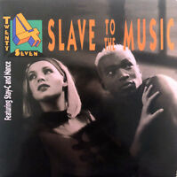 Twenty 4 Seven Featuring Stay-C And Nance CD Single Slave To The Music - Europe