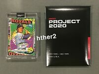 Topps Project 2020 Card #55 George Brett Royals 1975 by Tyson Beck PR / 1,992