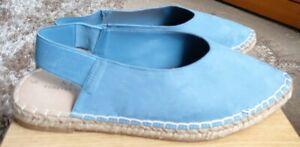 Next Forever Comfort Ladies Blue Slingbacks Size 7/41