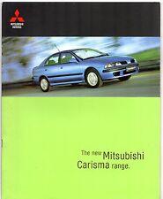 Mitsubishi Carisma 1999-00 UK Market Brochure Classic Equippe Sport Elegance