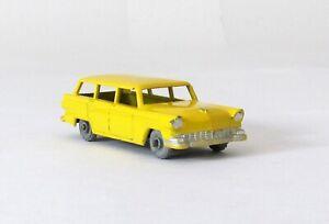 Vintage Lesney Matchbox #31-A American Ford Station Wagon METAL WHEELS XLNT 1957
