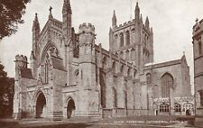 HEREFORD CATHEDRAL, FROM S.W. * DATES FROM 1079, WITH A 50.3m TOWER (E23)