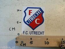 STICKER,DECAL FC UTRECHT LOGO VOETBAL SOCCER C
