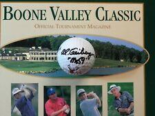 "Al ""Mr. 59"" Geiberger Signed Golf Ball 1999-2000 Boone Valley Classic Senior PGA"