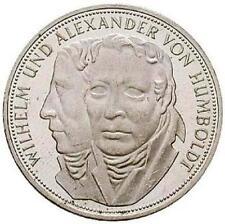 5 DM 200. Geburtstag von Wilhelm und Alexander von Humboldt