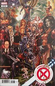 POWERS OF X #1 BROOKS COVER SIGNED IN GOLD BY JOE QUESADA W/COA NM.