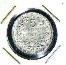 Chile - 1928 - 5 Centavos - Great Rare Coin in top Condition!