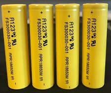 "Brand New ""4""  A123  3.2V 18650 1100mAh Lifepo4 Lithium Rechargeable Battery 30A"