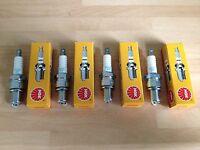 KAWASAKI ZXR750 89-96 ZX7 R RR 96-03 ZX10 88-91 NGK SPARK PLUGS SET FREE POST!