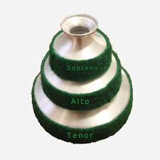 SET OF Soprano Alto Tenor Saxophone MUTE-Green Color H-I-Q