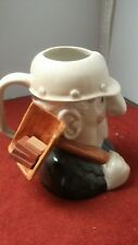 More details for elliot brothers toby jug hod carrier honiton pottery