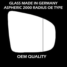 BMW X5 Door Wing Mirror Replacement Glass - Right Hand Side,Aug 2007 TO 2013