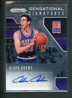 2019-20 Alvan Adams Auto Panini Prizm Autographs Sensational Signatures