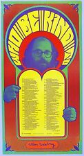 WHO BE KIND TO. Original Poster with ALLEN GINSBERG Poem. 1967. Wes Wilson. 1st