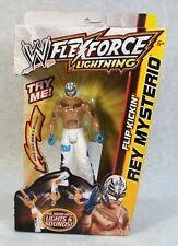 WWE FLEXFORCE LIGHTNING FLIP KICKIN REY MYSTERIO FIGURE RARE