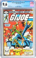 D458 G.I. JOE A REAL AMERICAN HERO #1 Marvel CGC 9.6 NM+ 1982 1st app SNAKE EYES