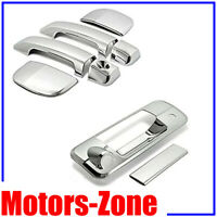 For 2007~2013 Toyota Tundra DOUBLE CAB Chrome Door Handle +Tailgate Covers