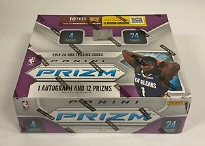 2019-20 Panini Prizm Basketball 24-Pack Retail Box Sealed Zion RC YR Auction #3