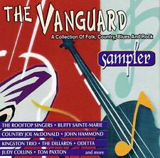 THE VANGUARD SAMPLER - A Collection Of Folk,Country,Blues And Rock (NEW CD)