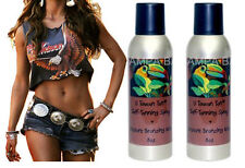 SUNLESS AIRBRUSH TANNING SPRAY AEROSOL PINEAPPLE SCENT, 2 - 8 OZ CANS