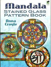 Mandala Stained Glass Pattern Book, Books  NEW
