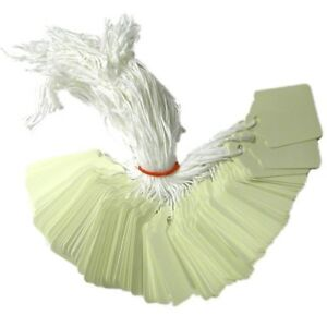 1000 STRUNG WHITE PRICE TAGS 28mm x 43mm