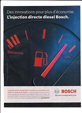 BOSCH INJECTION DIRECTE  Publicité de Magazine . Magazine advertisement. 2012