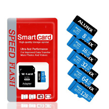 ALUNX 32GB Micro SD Class 10 TF Flash Memory Card With Adapter for Phone and Cam
