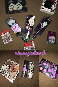 Brand New Primark Disney VILLAINS Cruella/Ursula/Maleficent Cosmetics Collection