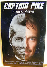 Star Trek's SEAN KENNEY ~ CAPTAIN PIKE FOUND ALIVE ~ SIGNED