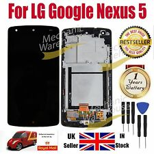 LG Google Nexus 5 D820 D821 LCD Digitizer Touch Screen Display Frame Replacement