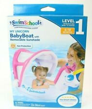 Swimschool My Unicorn Baby Boat With Removable Sunshade