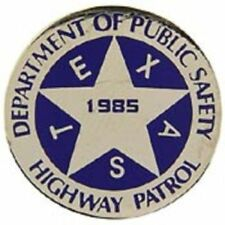 Texas Highway Patrol State Department Public Safety Lapel Hat Pin