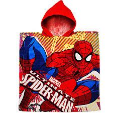 Badeponcho / Kapuzenhandtuch - Spider-Man - 100 % Baumwolle - 60 cm * 120 cm - 2